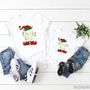 Tops - Christmas Elf Family Shirt Set   Family Matching